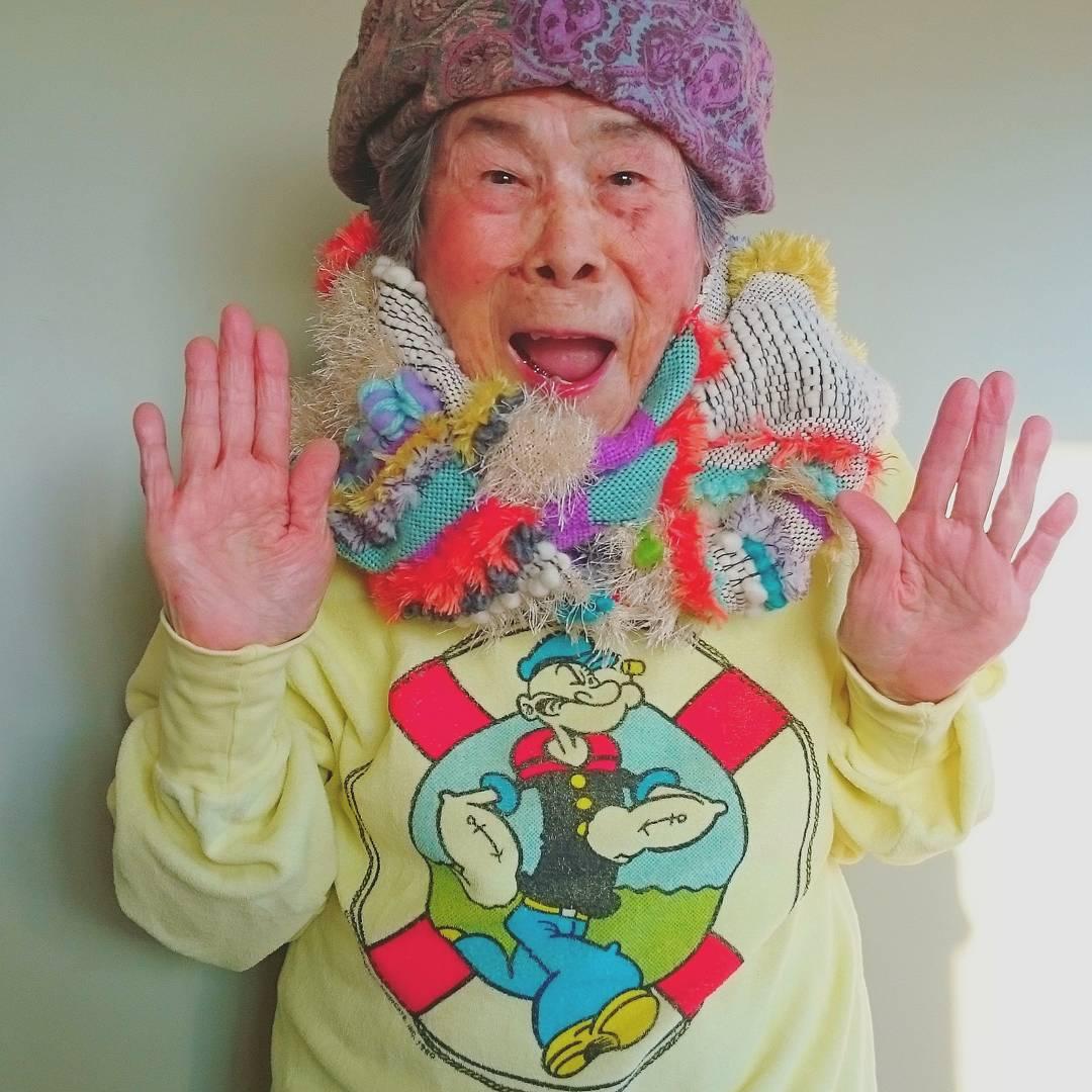 93-летняя модель одежды из Instagram
