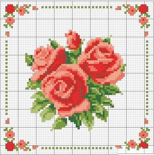 Цветы ... схемы для вышивки