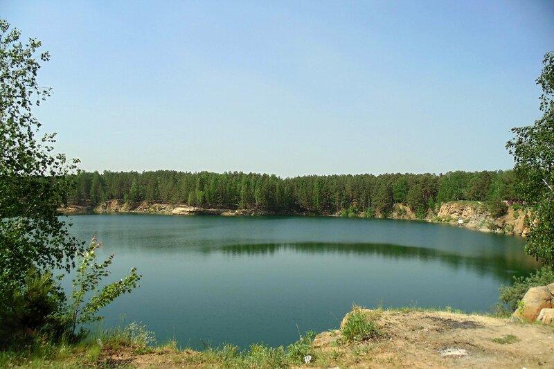 Челябинск. Голубой карьер.