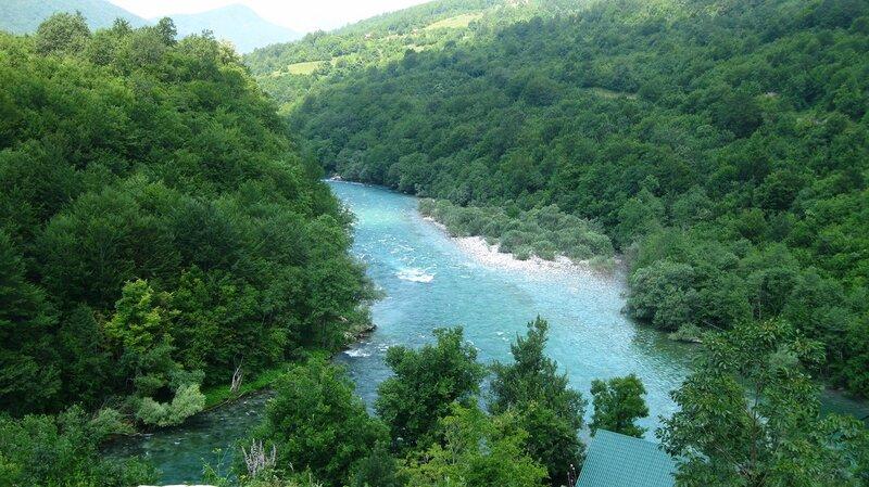 реки Пива, Тара и Дрина