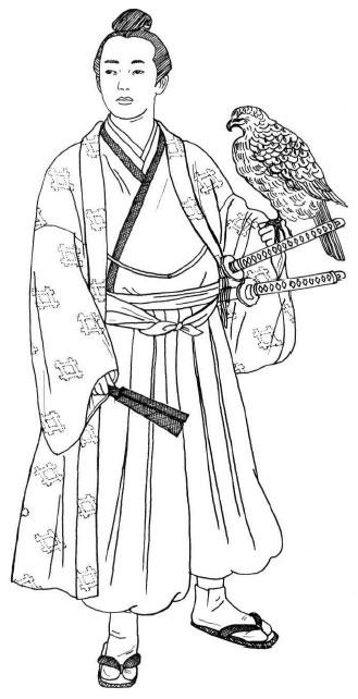 Традиционная одежда. Период Ðдо (1603 -1868)