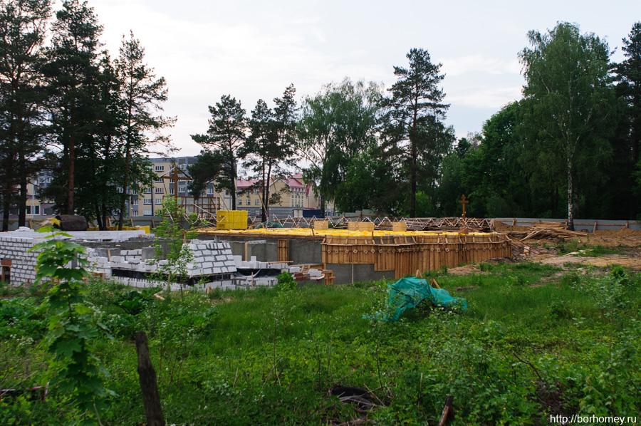 новый храм в Сарове