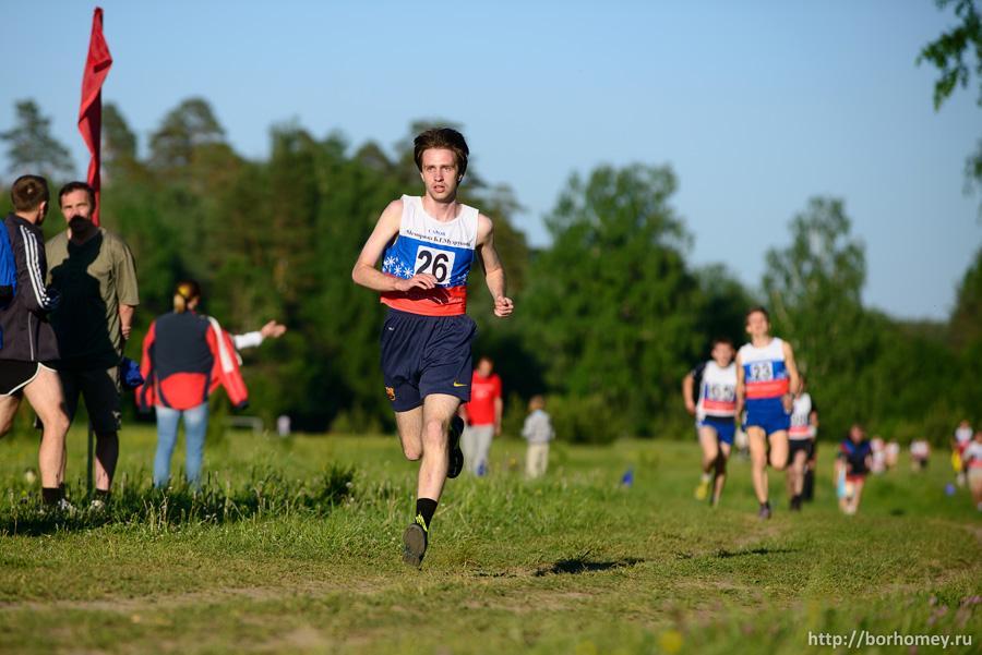 кросс 2 км - финиш