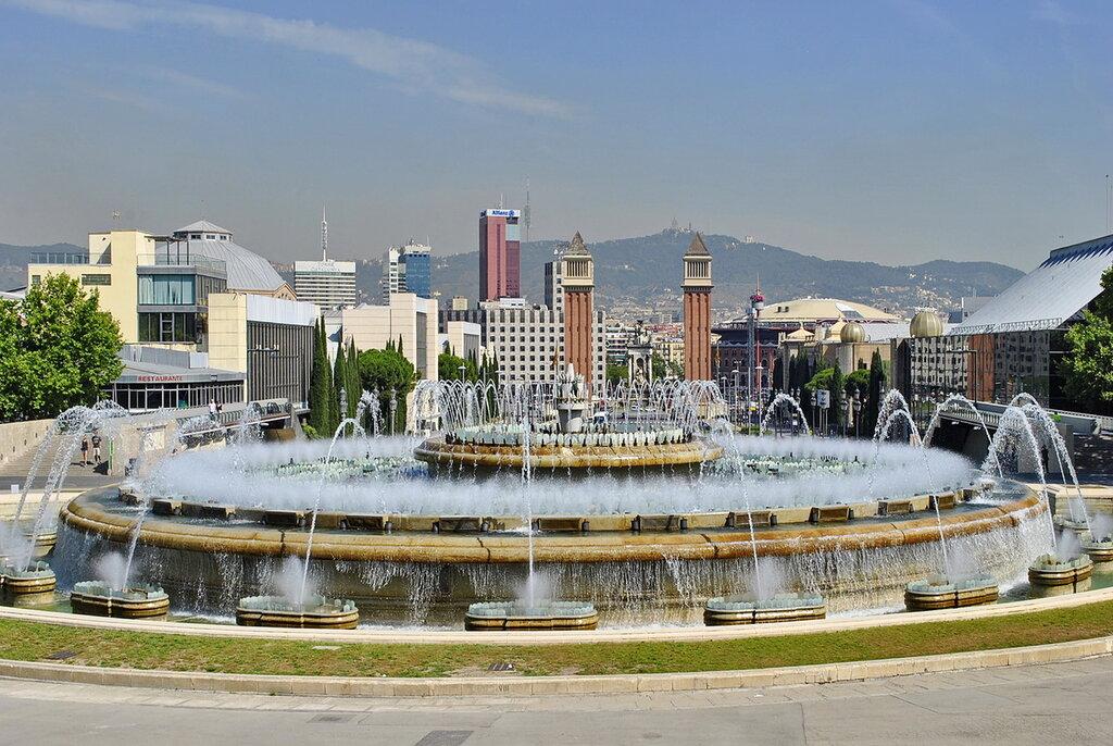 Fonte Mágica de Montjuic, em Barcelona