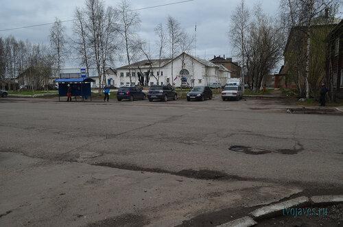 Фото города Инта №6843  Северная сторона Кулешова 10 (полиция) 03.06.2014_16:44