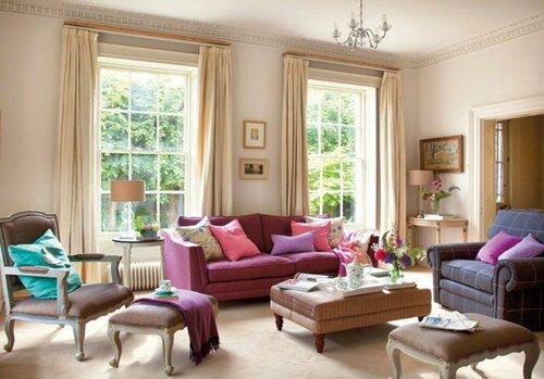 Душевный интерьер загородного дома в Англии1.jpg