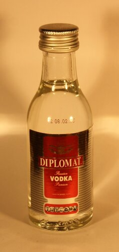 Водка Diplomat Russian Vodka Premium Strong