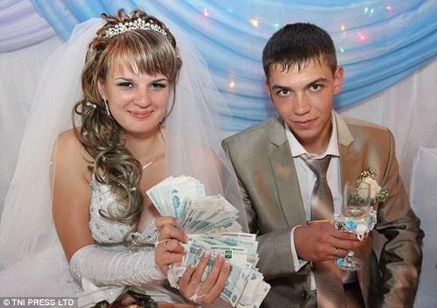 Самый главный подарок на свадьбу — это деньги.