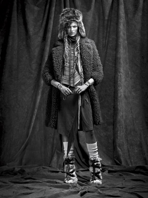 Бетт Франке (Bette Franke) в журнале Vogue Spain