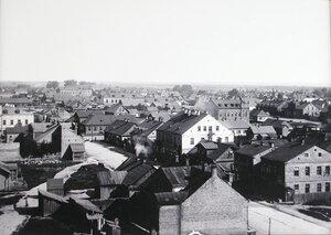 Вид жилых домов на Полицейской улице.
