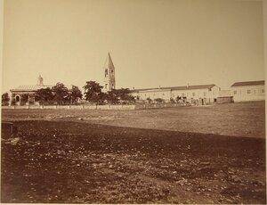 Вид на Георгиевский мужской монастырь (с восточной стороны).