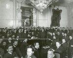 Вид части зала во время совещания членов  Второй Государственной думы с прессой.