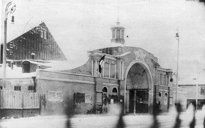 Вид кинематографа Колизей, построенного в 1908 г. по проекту архитектора Якова Германовича Гевирца.