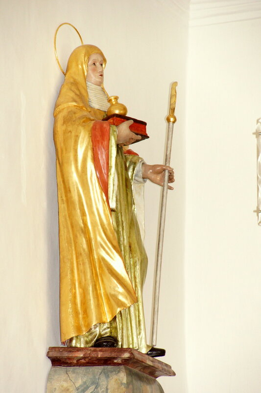 Die Wallfahrtskapelle-Kapelle zu unserer Lieben Frau auf dem Freiberg bei Deinschwang