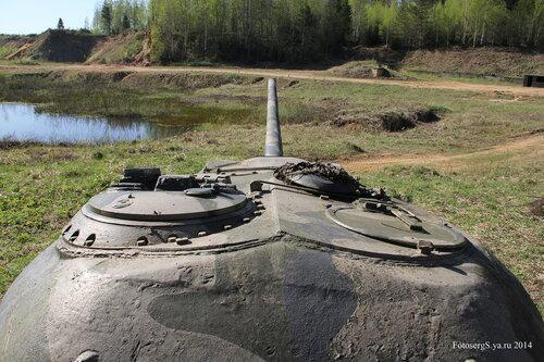 ТОТ с башней танка Т-54