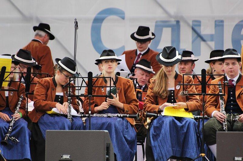 национальный австрийский духовой оркестр «Солингер»