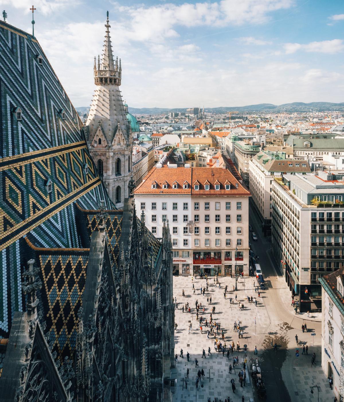 alpinexp, Вена, Австрия, Собора Святого Стефана