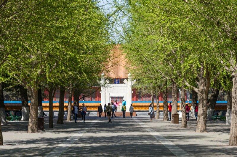Алтарь Земли и Злаков, парк Чжуншань гунъюань, Пекин