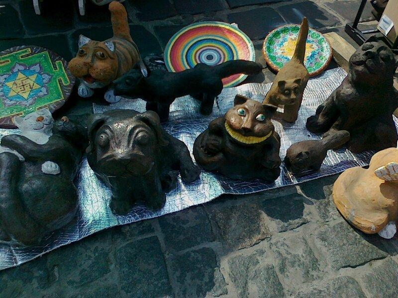 Керамические коты