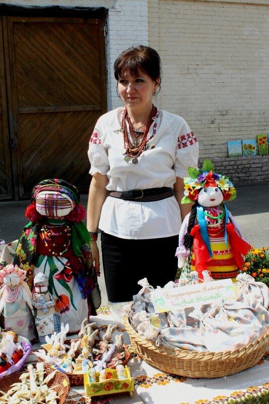 Традиционные украинские куклы