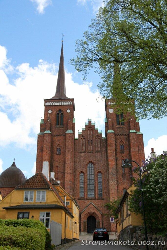 Дания, собор в Роскилле