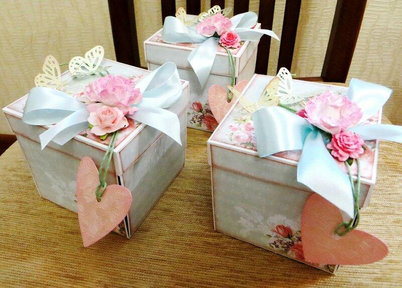 Коробочки для денежного подарка к свадьбе