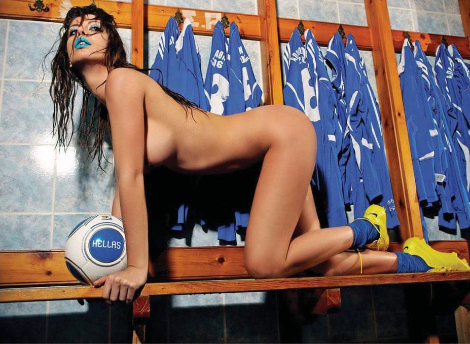 Greece / Elizabeth Laini - Playboy South Africa june 2014 / FIFA Fever