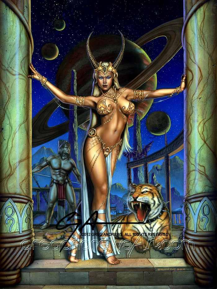 Рея (дочь богини земли Геи и бога неба Урана) - Greg Andrews
