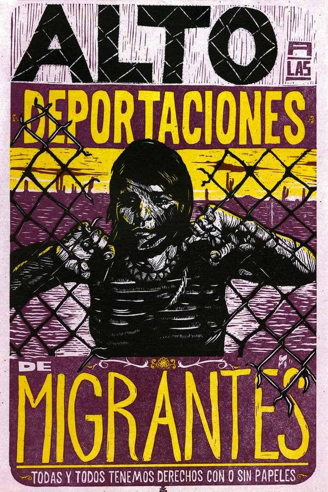 Остановить депортацию мигрантов (Santiago Armengod)