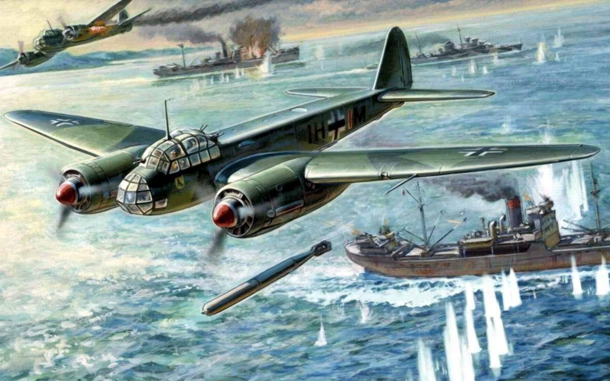 Немецкий многоцелевой самолет Junkers Ju 88A