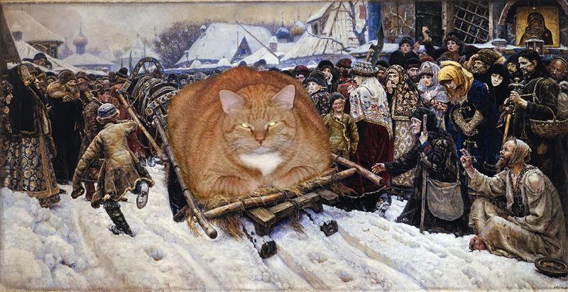Светлана Петрова и кот Заратустра