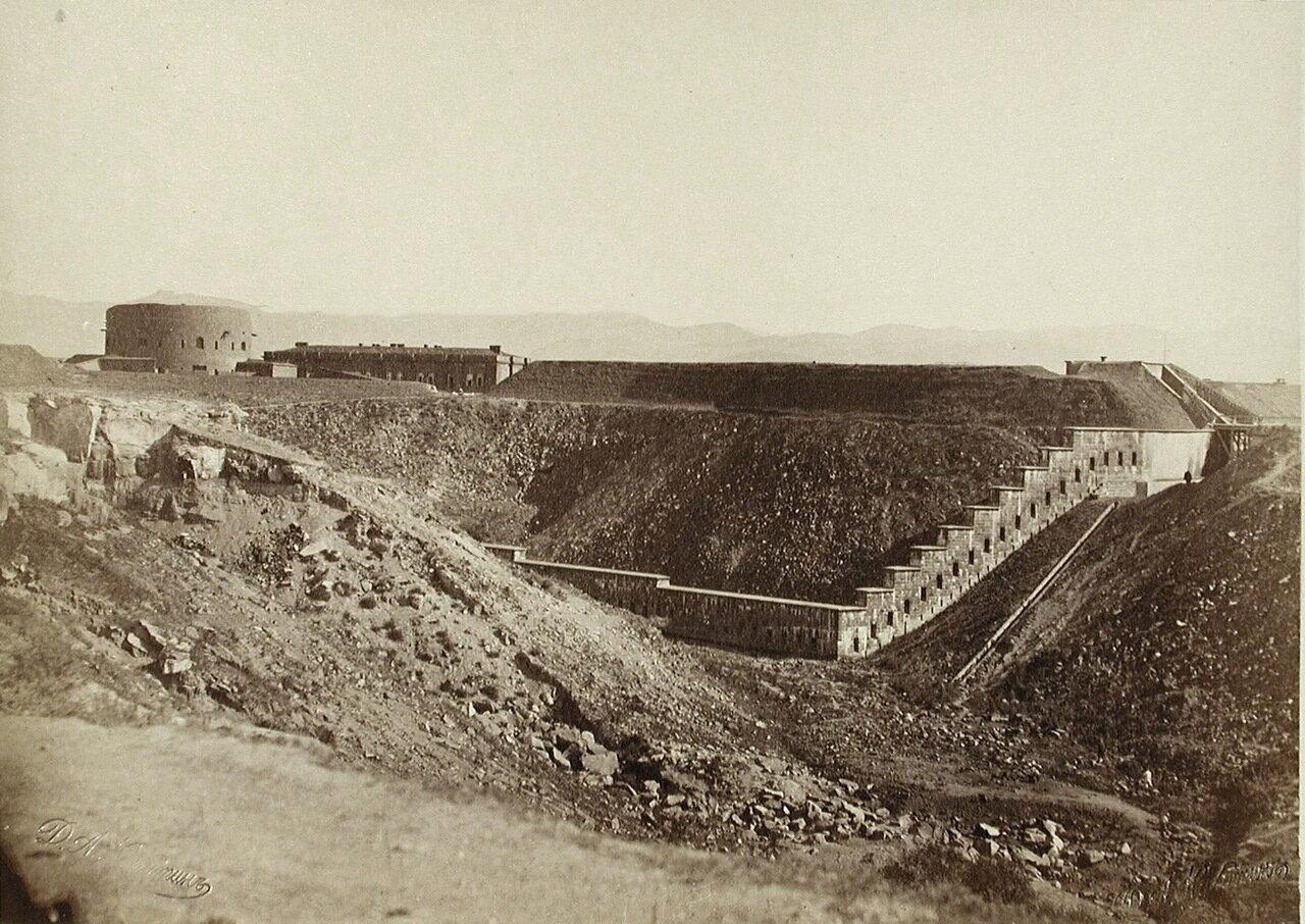Вид на северный форт Александропольской крепости