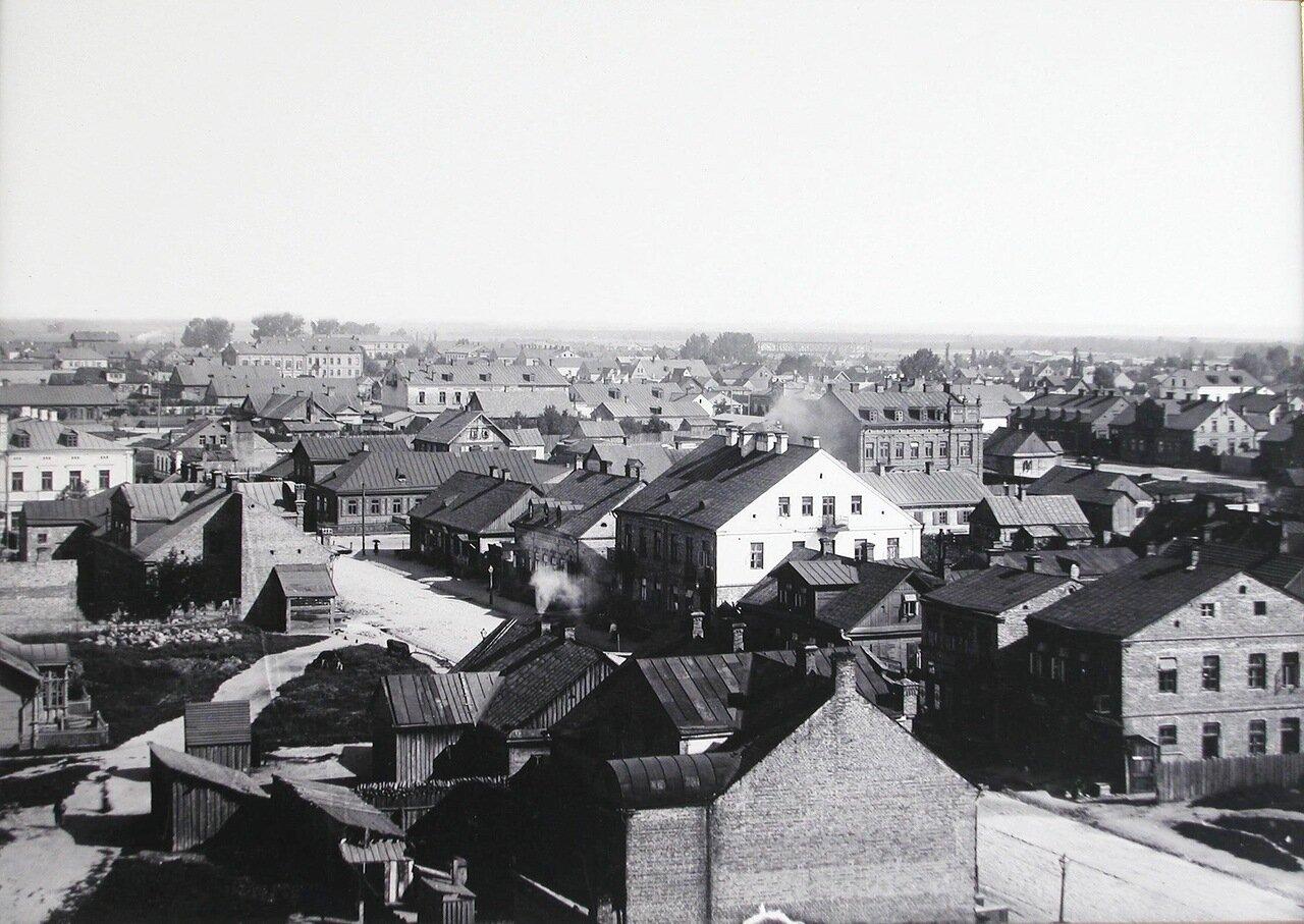 Вид жилых домов на Полицейской улице. 1900