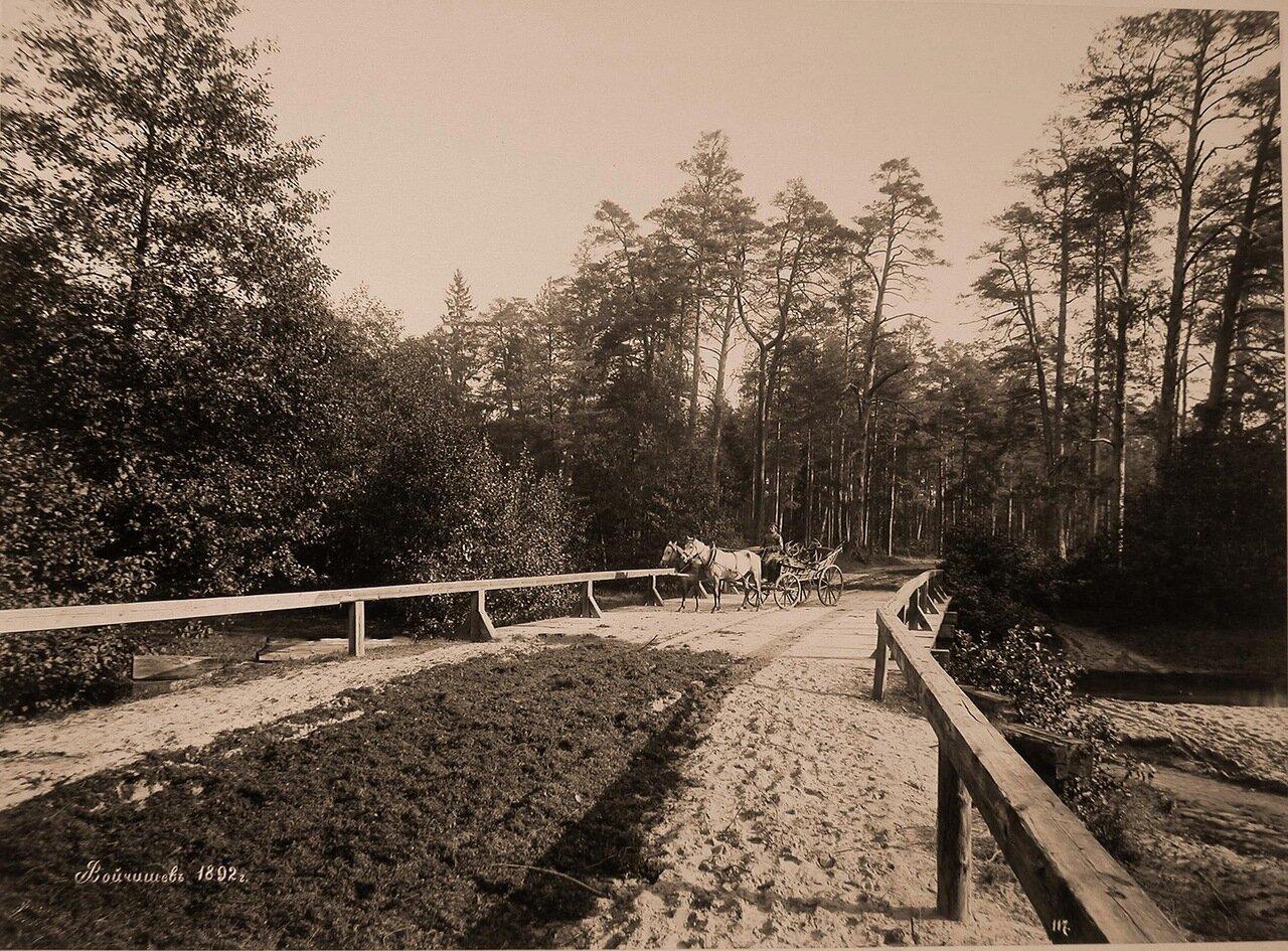 39. Егерь везет в телеге убитых во время охоты оленей. 1892