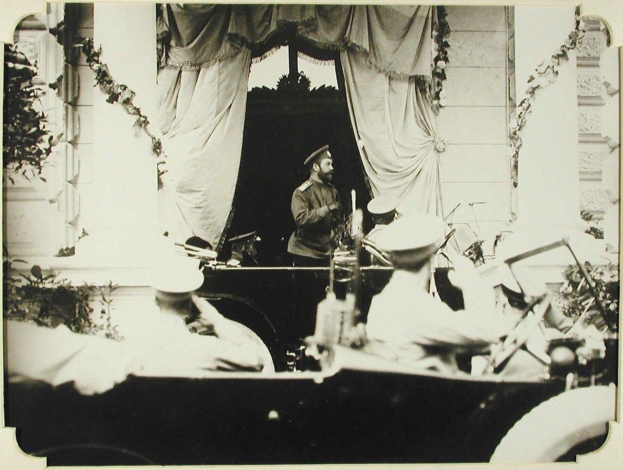 01. Прибытие императора Николая II на станцию Одесса-главная