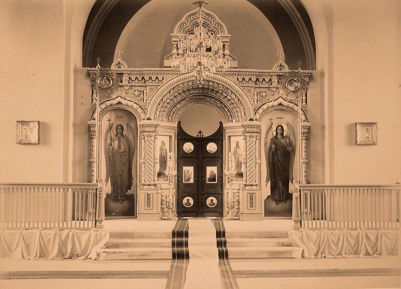 09. Вид алтарной части и царских врат в церкви св. Николая