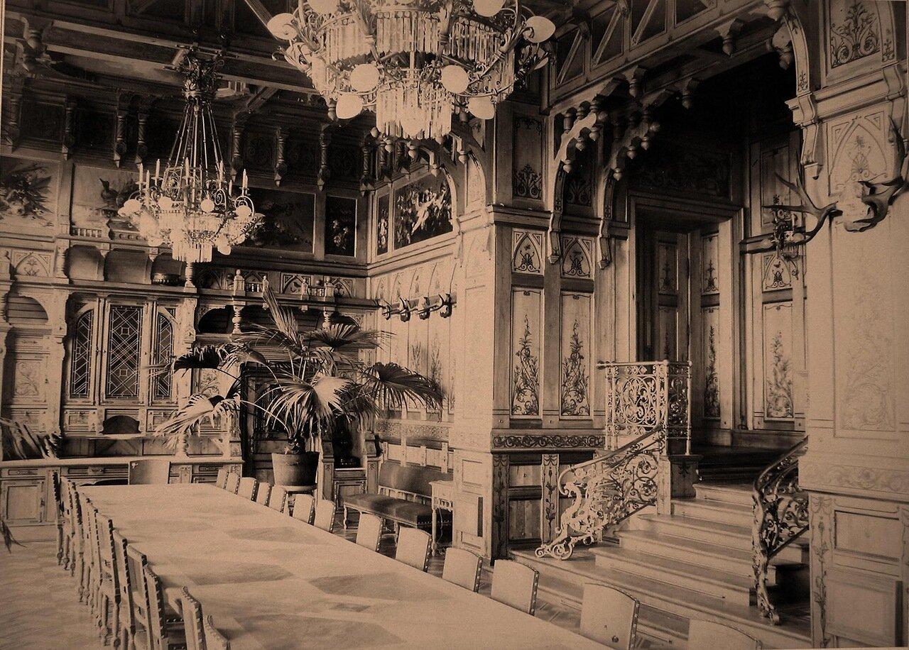 15.  Вид столовой в императорском охотничьем дворце
