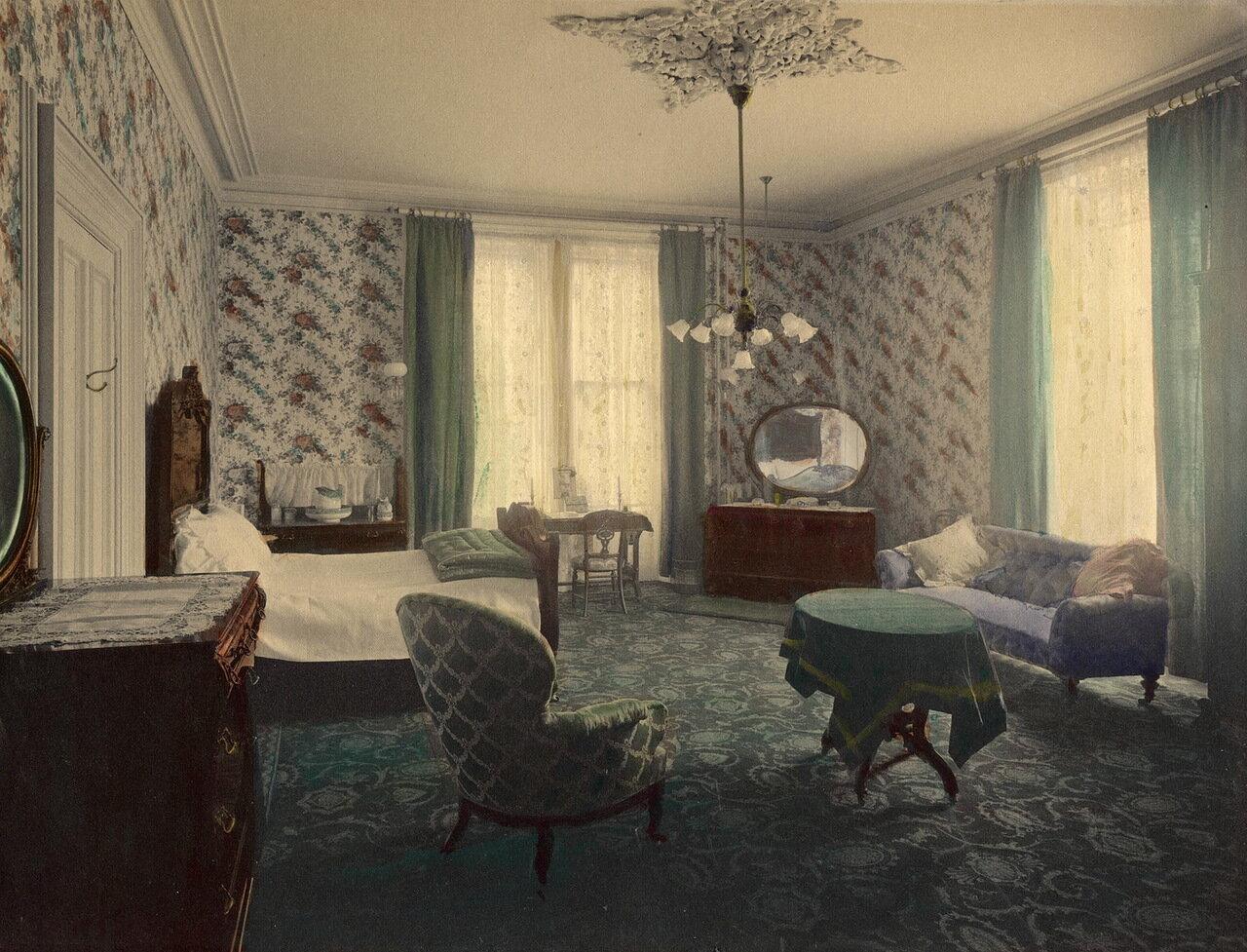 Спальня (зеленая спальня)