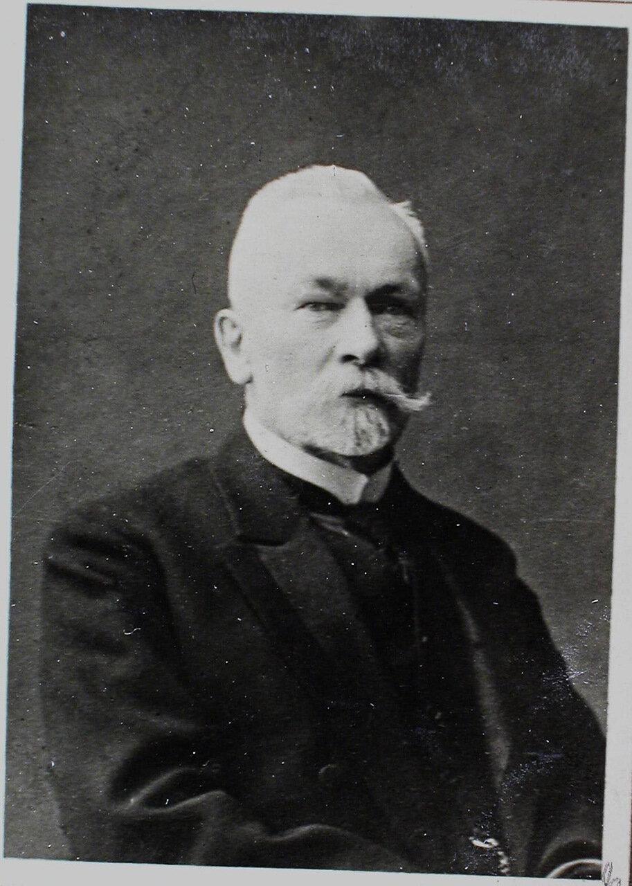 12. а. Профессор геометрии Карл Васильевич Фохт (ск. в 1913г.).