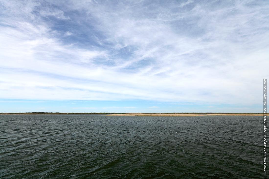 Карповское водохранилище Волго-Донского судоходного канала. Располагается между 12 и 13 шлюзами