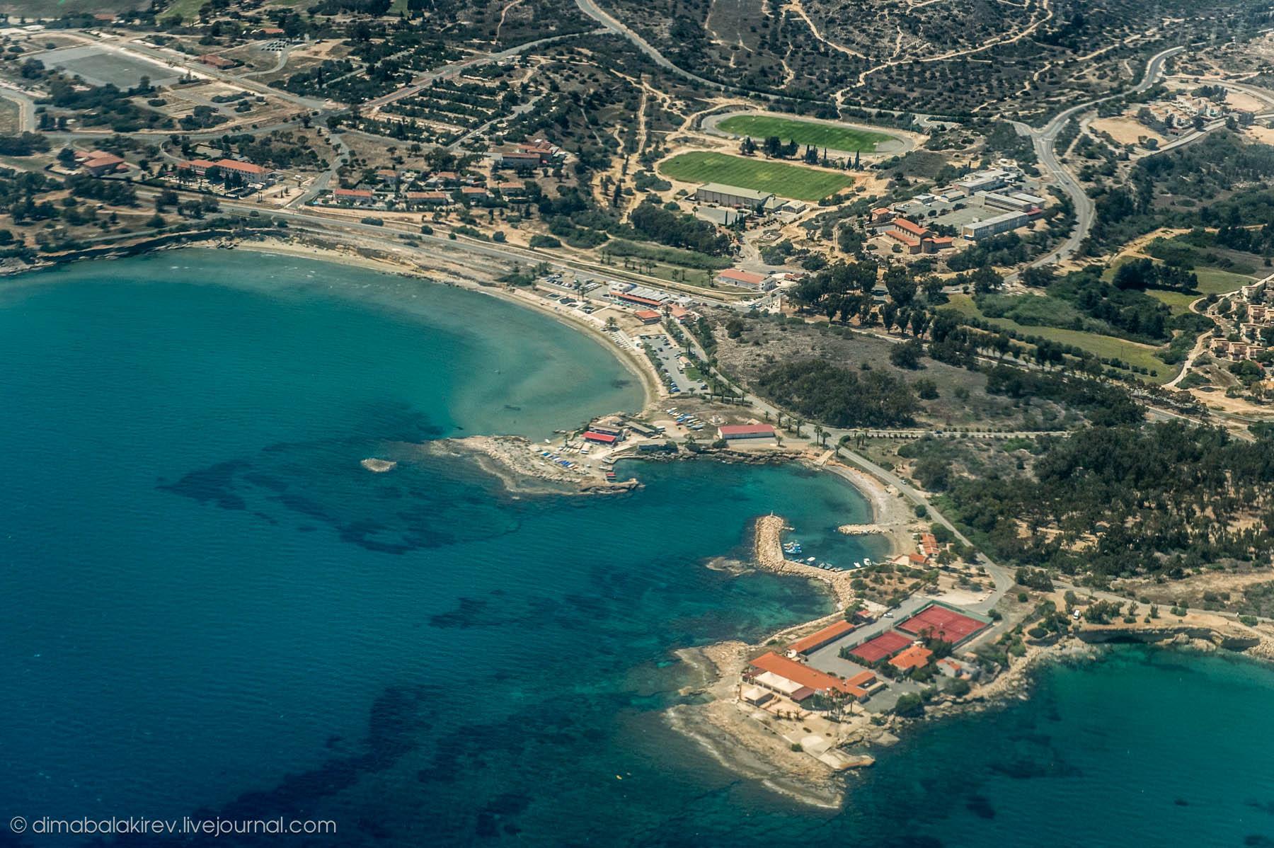 Кипр с высоты