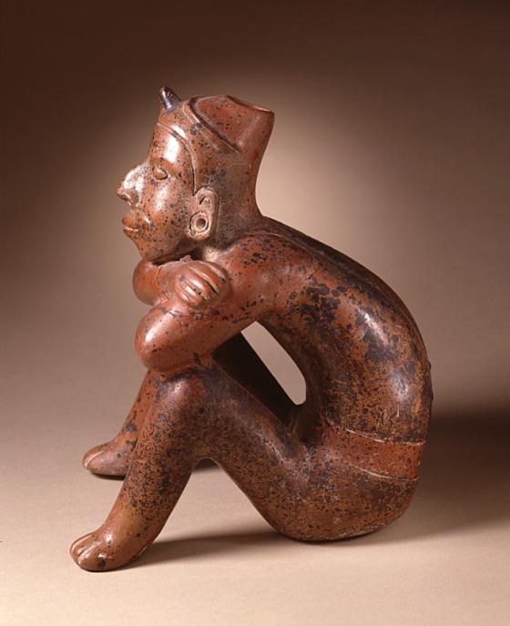 Seated Male Figure Mexico, Colima, Colima, 200 B.C. - A.D. 500.jpg