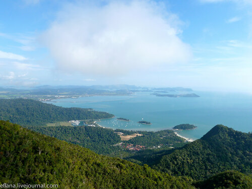 Смотровая площадка и канатная дорога на острове Лангкави