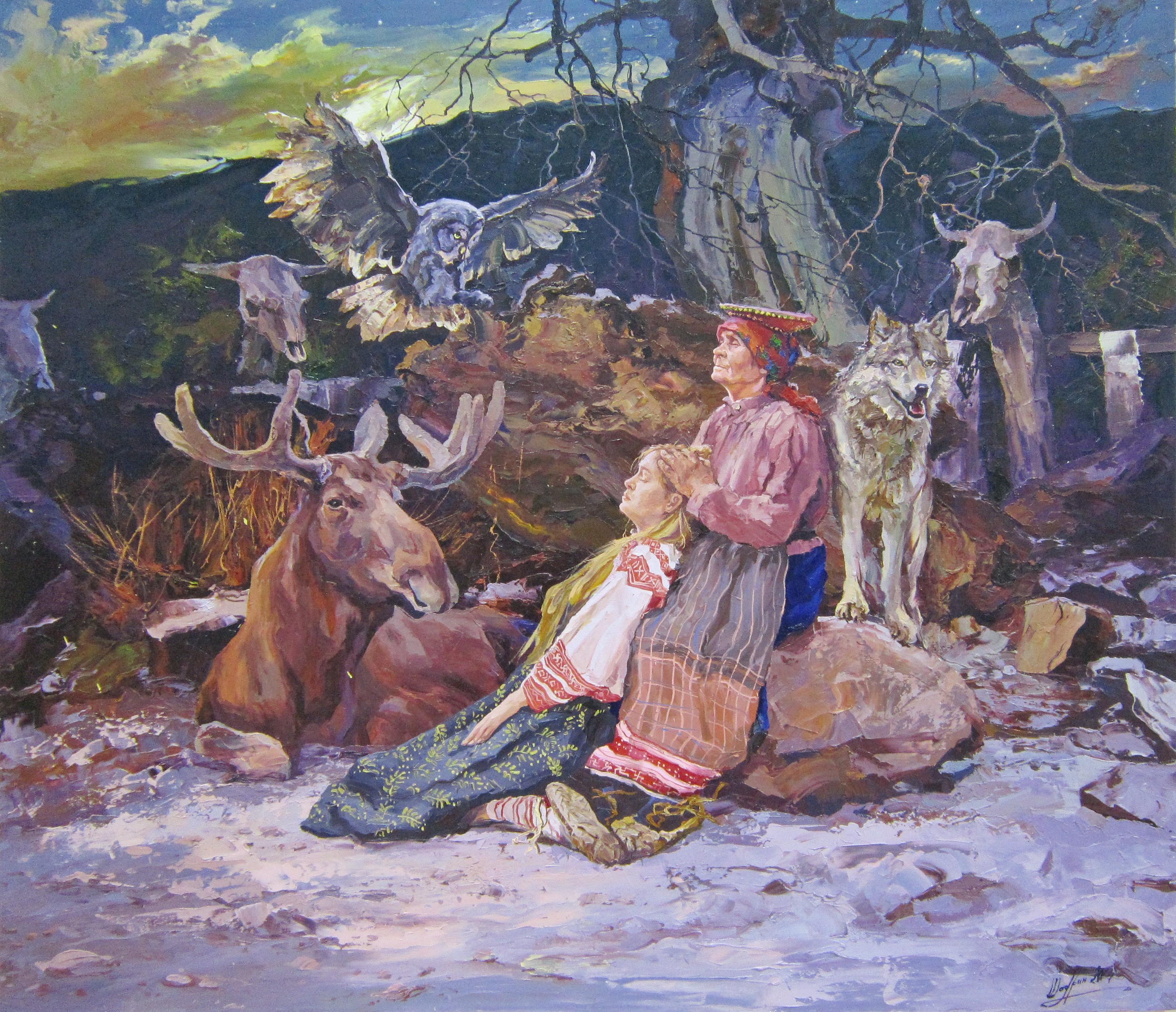 Александр Шадрин (род. в 1968 г.). Голос предков.