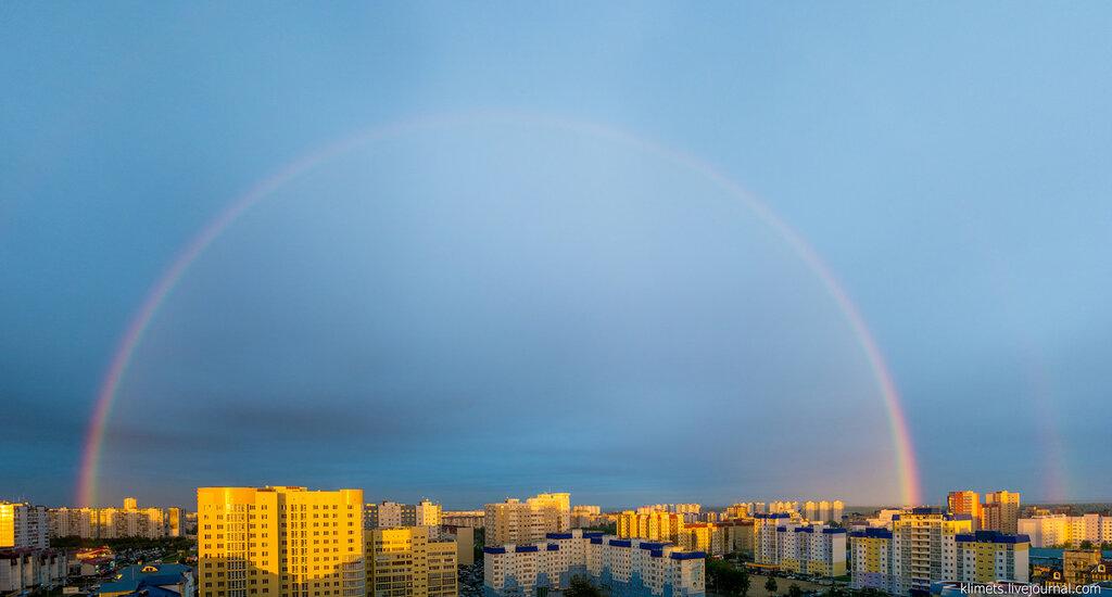 Пятничная радуга над Нижневартовском