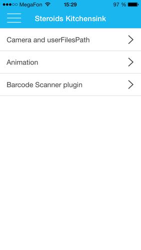 Using Side Drawers In Mobile Apps On Steroidsjs Varya