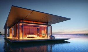 Плавучий дом - вдохновение от природы