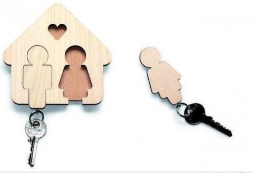 подставка для ключей