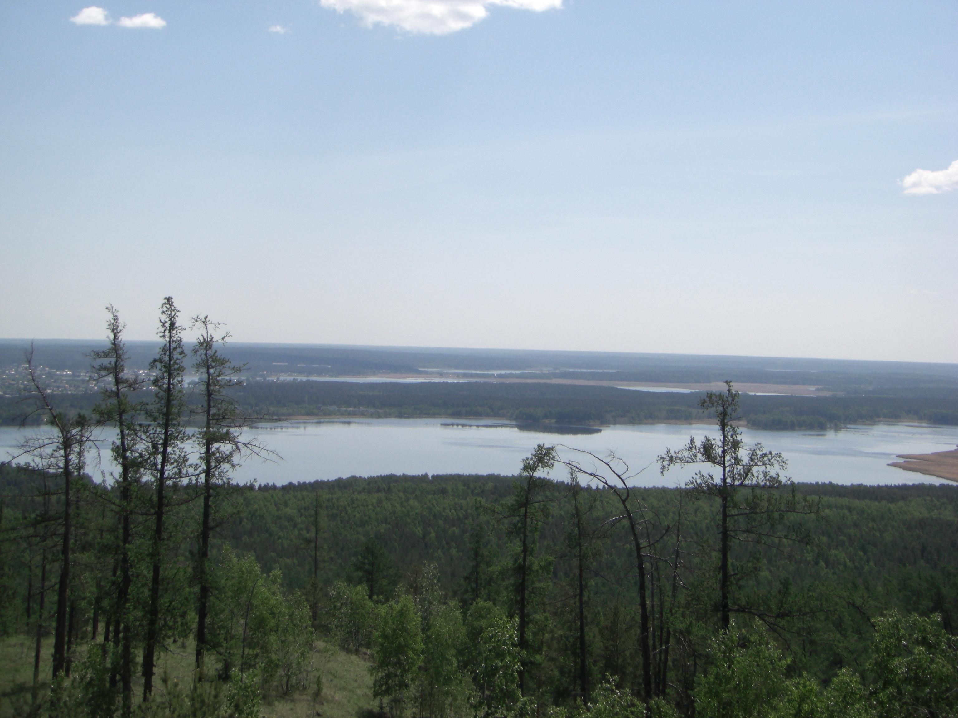 Вид на озеро Сугомак (04.06.2014)