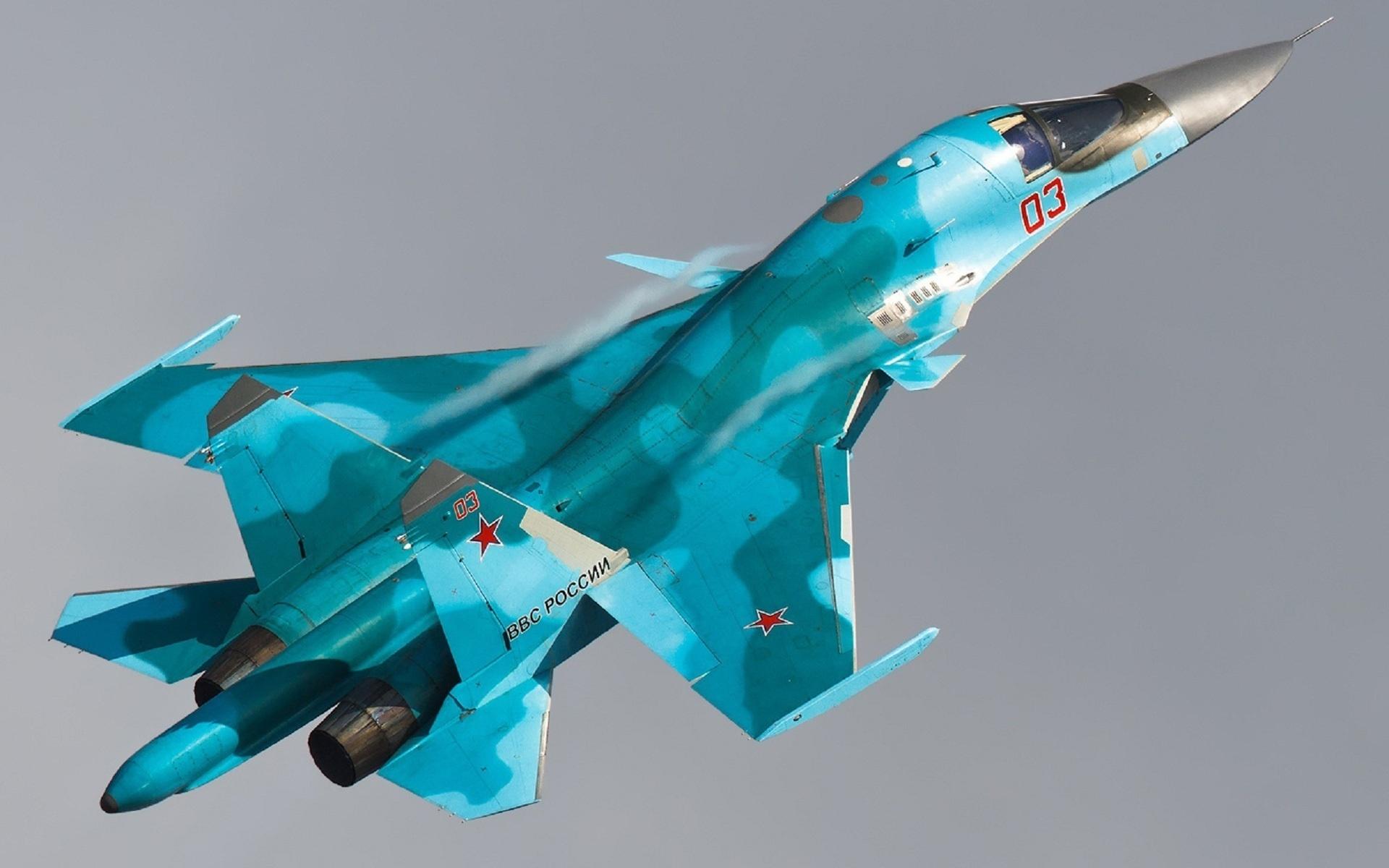 Су-34 устроил огненный ад на аэродроме «противника»: кадры учений